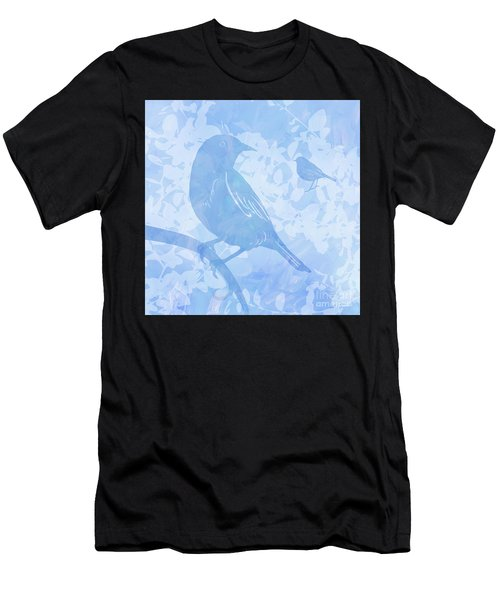 Tree Birds I Men's T-Shirt (Athletic Fit)