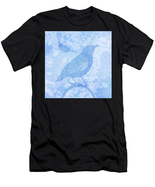Tree Birds II Men's T-Shirt (Athletic Fit)