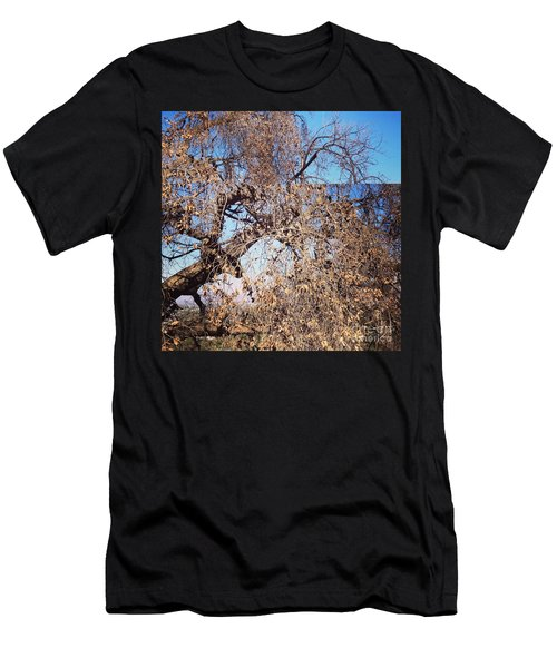 Tree Bow And Dance Men's T-Shirt (Athletic Fit)