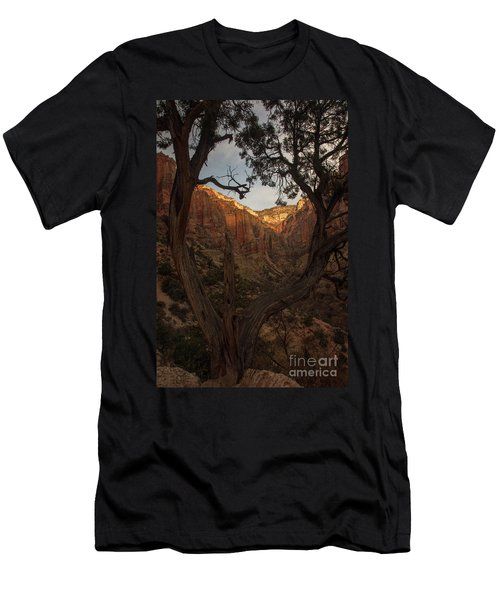 Tree Heart Men's T-Shirt (Athletic Fit)