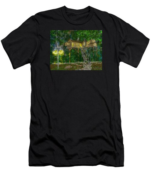 Tree House #10 Men's T-Shirt (Athletic Fit)