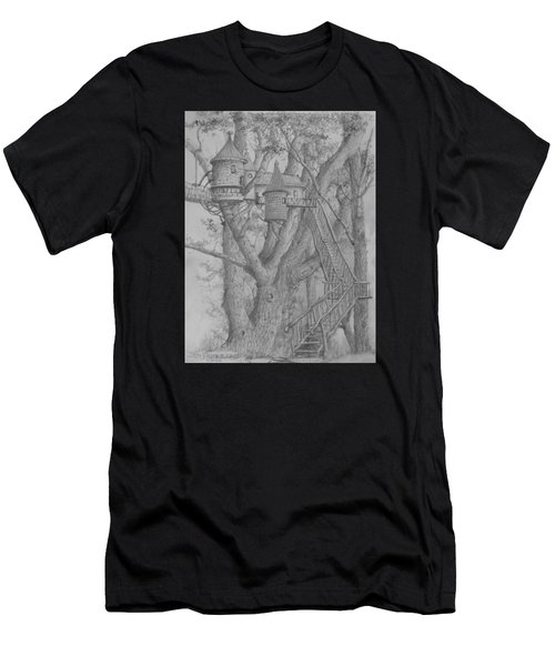 Tree House #3 Men's T-Shirt (Athletic Fit)