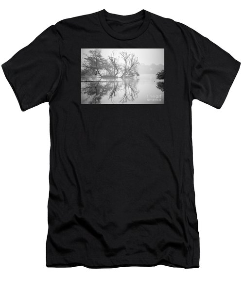 Tree In A Lake Men's T-Shirt (Athletic Fit)