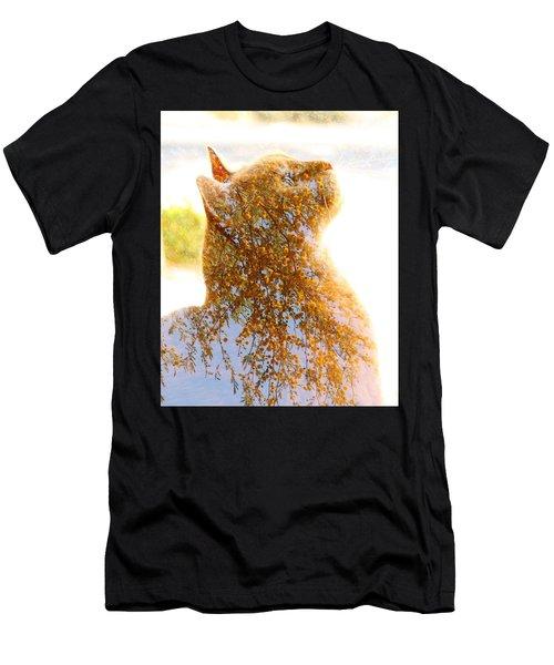 Tree In Cat Men's T-Shirt (Athletic Fit)