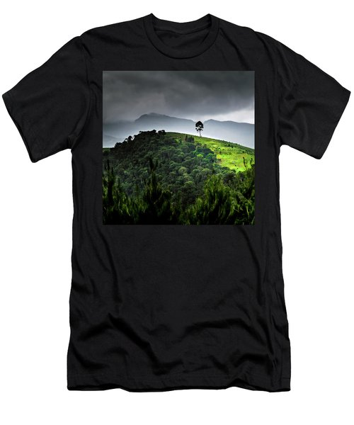 Tree In Kilimanjaro Men's T-Shirt (Athletic Fit)