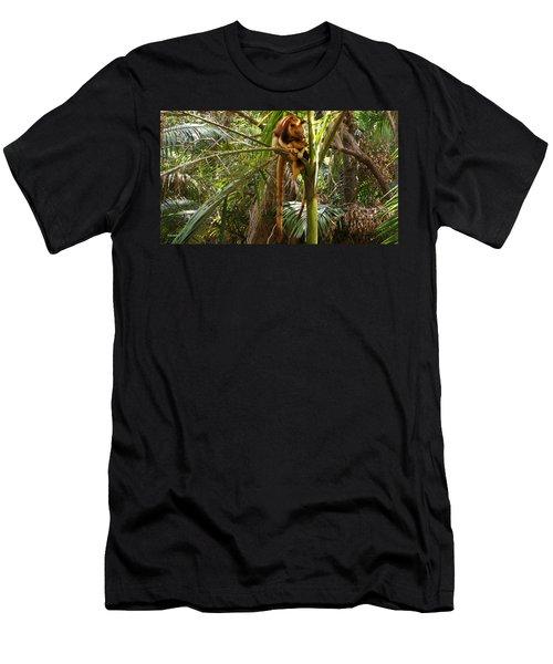 Tree Kangaroo 2 Men's T-Shirt (Athletic Fit)