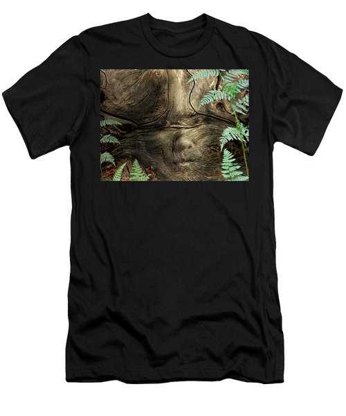 Men's T-Shirt (Slim Fit) featuring the photograph Tree Memories # 32 by Ed Hall