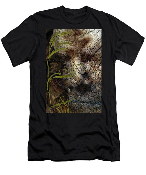 Men's T-Shirt (Slim Fit) featuring the photograph Tree Memories # 37 by Ed Hall