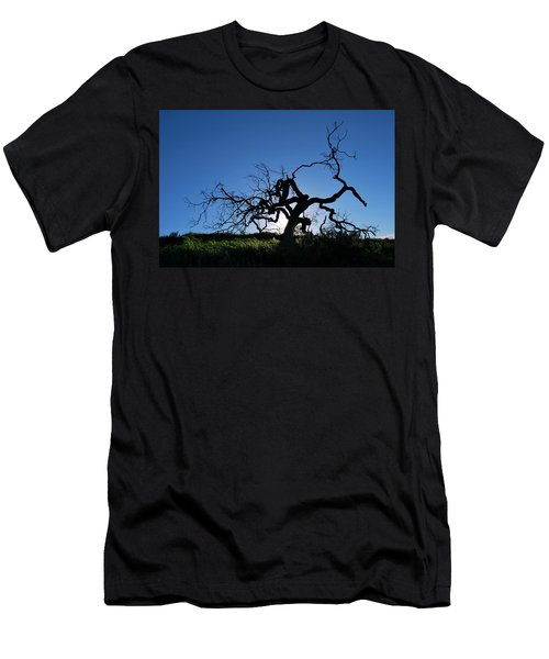 Men's T-Shirt (Athletic Fit) featuring the photograph Tree Of Light - Straight View 2 by Matt Harang