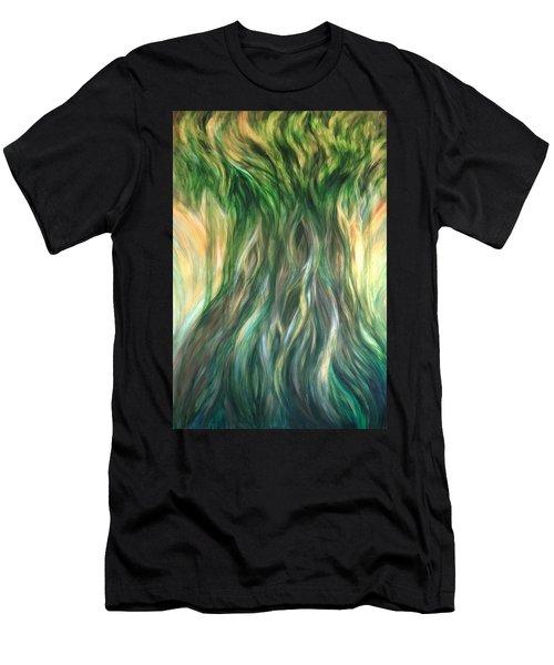 Tree Of Wisdom Men's T-Shirt (Athletic Fit)
