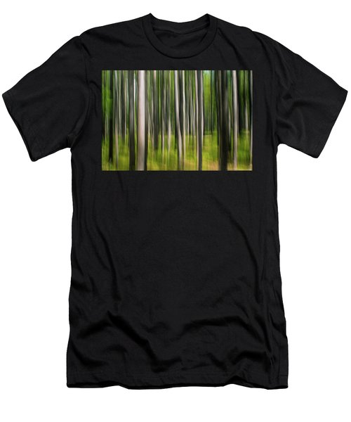 Tree Painting Men's T-Shirt (Athletic Fit)