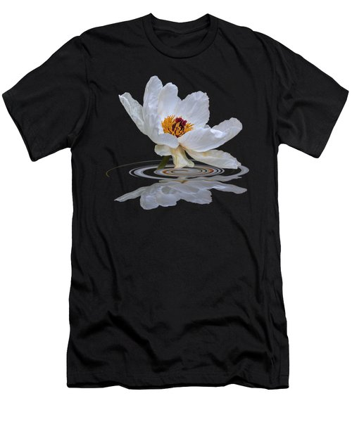 Tree Peony Reflections Men's T-Shirt (Athletic Fit)