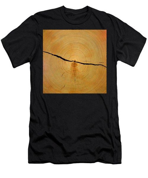Tree Rings Men's T-Shirt (Athletic Fit)