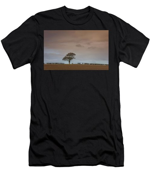 Men's T-Shirt (Athletic Fit) featuring the photograph Tree by RKAB Works
