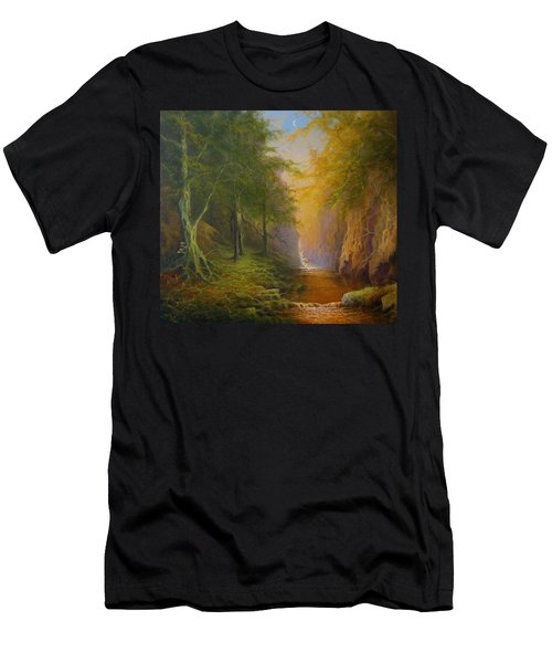 Fairytale Forest Tree Spirit Men's T-Shirt (Athletic Fit)
