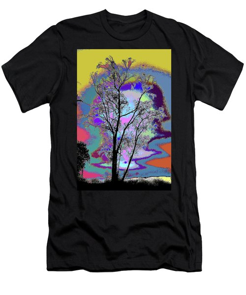 Tree - Story Of Life Men's T-Shirt (Athletic Fit)