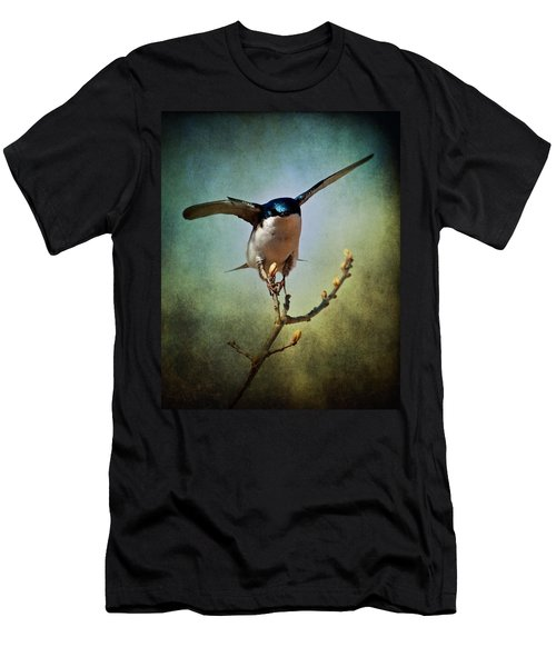 Tree Swallow 2 Men's T-Shirt (Athletic Fit)