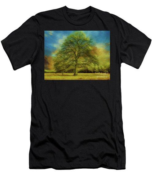 Tree Three Men's T-Shirt (Athletic Fit)