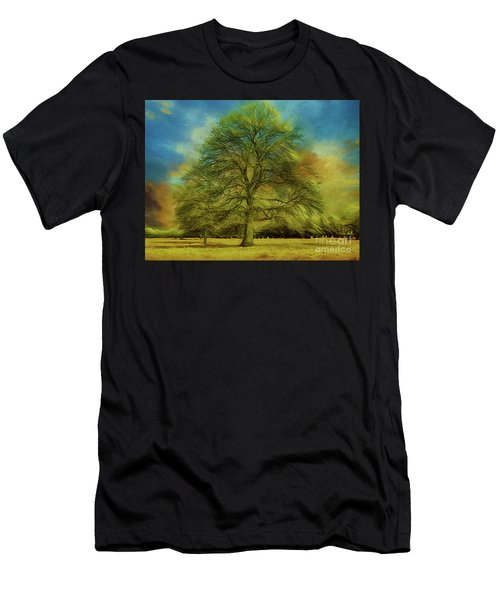 Tree Three Men's T-Shirt (Athletic Fit)