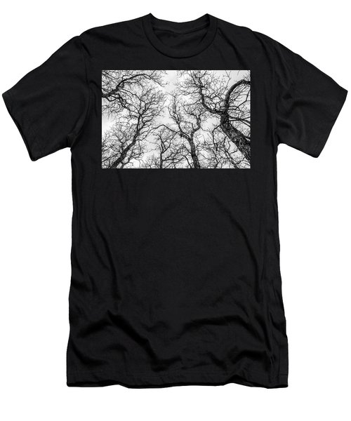 Men's T-Shirt (Athletic Fit) featuring the photograph Tree Tops by Sue Smith