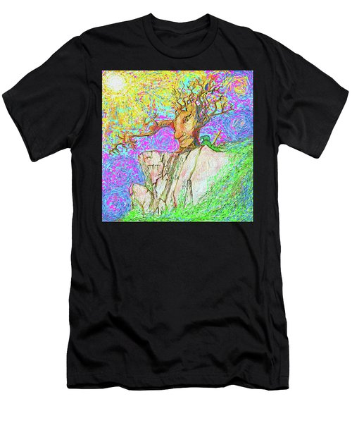 Tree Touches Sky Men's T-Shirt (Athletic Fit)