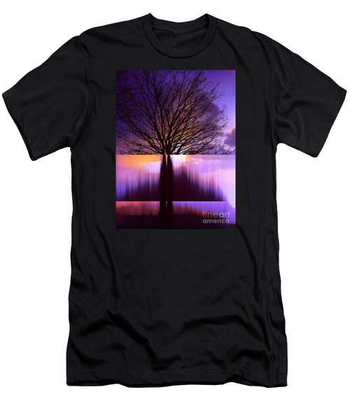 Tree Triptych Men's T-Shirt (Athletic Fit)