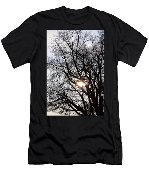 Men's T-Shirt (Slim Fit) featuring the photograph Tree With A Heart by James BO Insogna