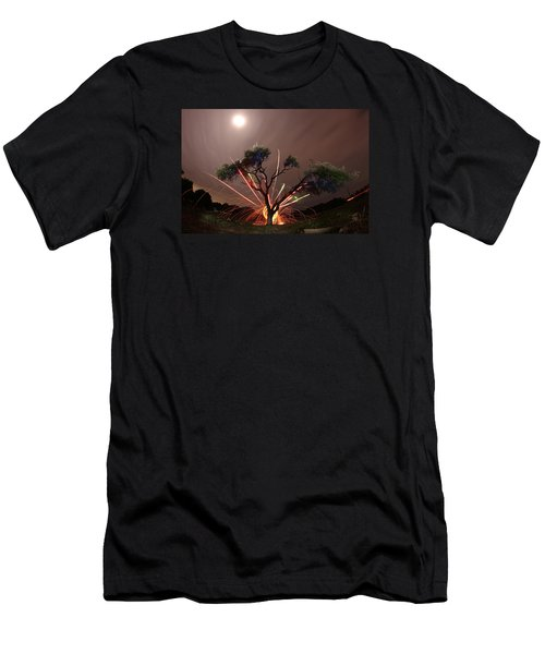 Treeburst Men's T-Shirt (Slim Fit) by Andrew Nourse
