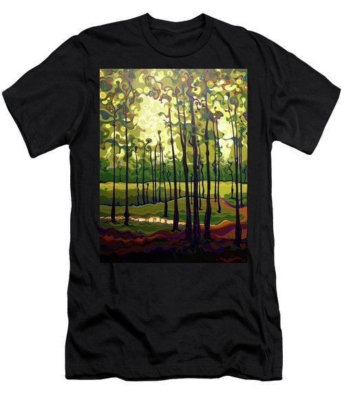Treecentric Summer Glow Men's T-Shirt (Athletic Fit)