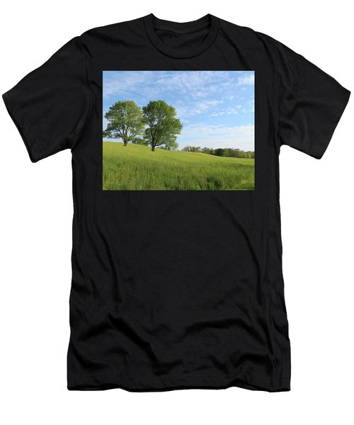 Summer Trees 3 Men's T-Shirt (Athletic Fit)