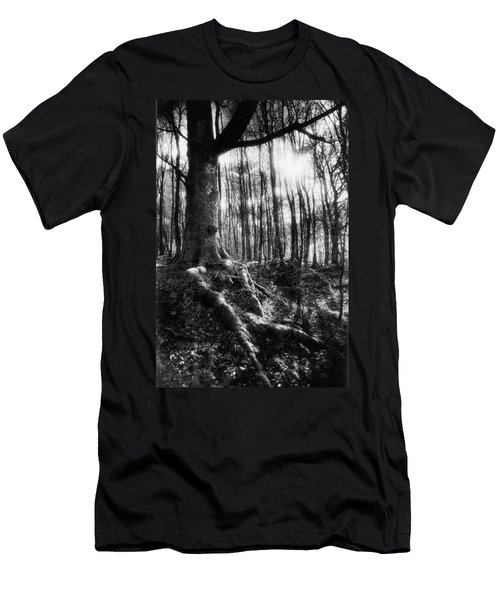 Trees At The Entrance To The Valley Of No Return Men's T-Shirt (Athletic Fit)