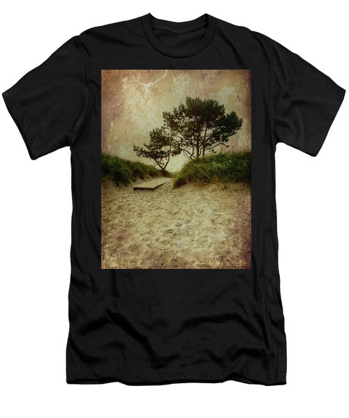 Trees By The Sea Men's T-Shirt (Athletic Fit)