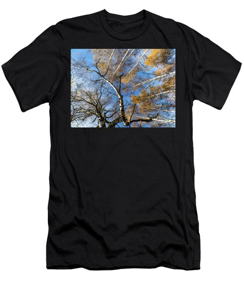 Trees Grow To The Sky Men's T-Shirt (Athletic Fit)