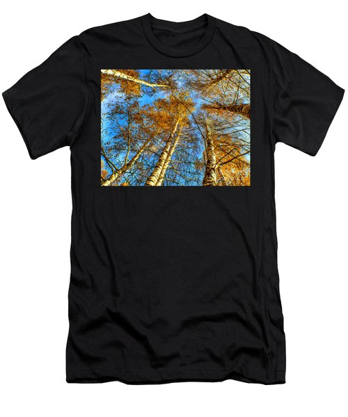 Trees Grow To The Sky Paint Men's T-Shirt (Athletic Fit)
