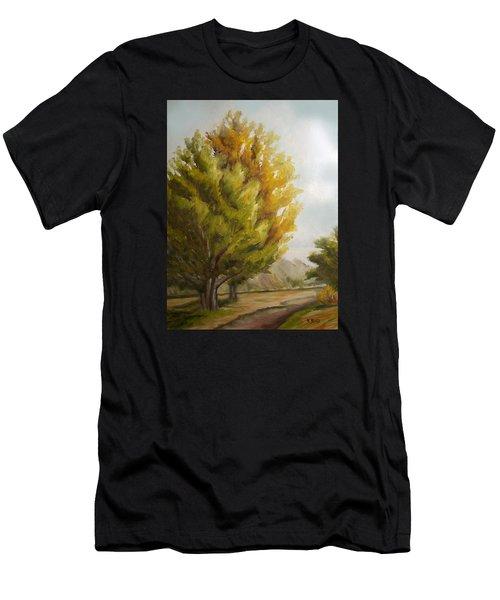 Trees In Boulder Men's T-Shirt (Athletic Fit)
