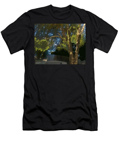 Trees In Park Men's T-Shirt (Athletic Fit)