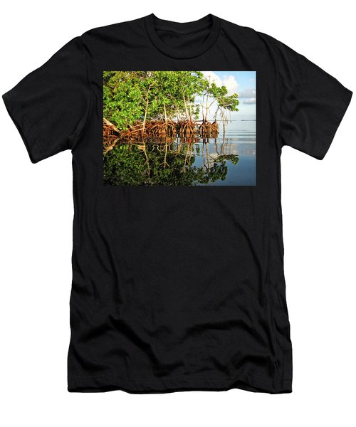 Trees In The Sea Men's T-Shirt (Athletic Fit)