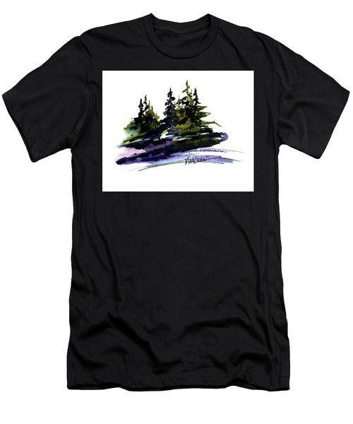 Trees Men's T-Shirt (Slim Fit) by Marti Green