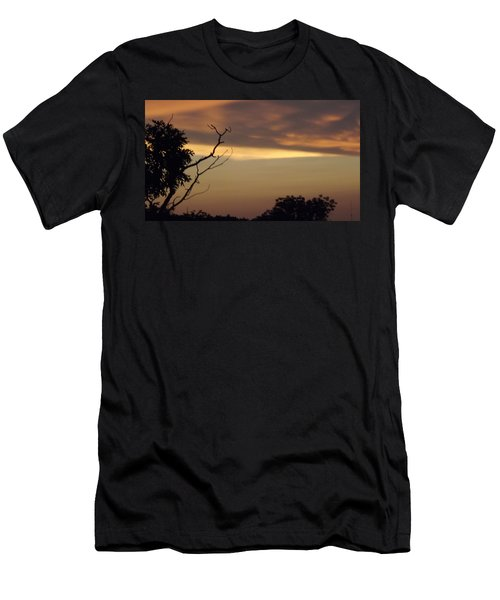 Trees Of The Lake Men's T-Shirt (Slim Fit) by Don Koester