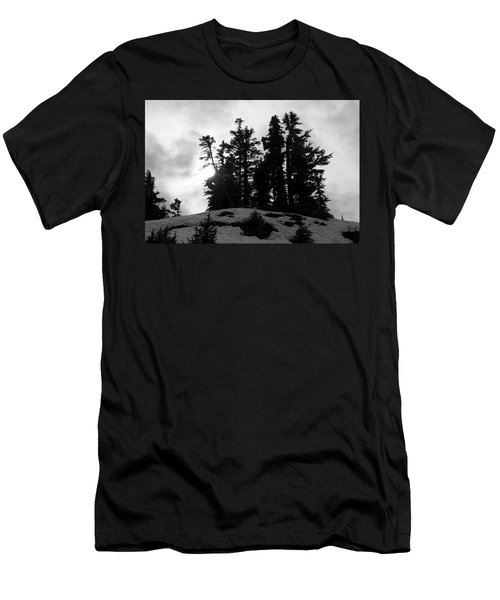 Trees Silhouettes Men's T-Shirt (Athletic Fit)