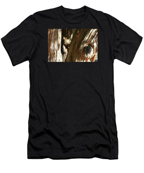 Trees Trunks Men's T-Shirt (Athletic Fit)