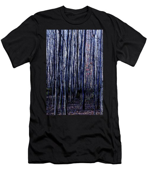 Treez Blue Men's T-Shirt (Athletic Fit)