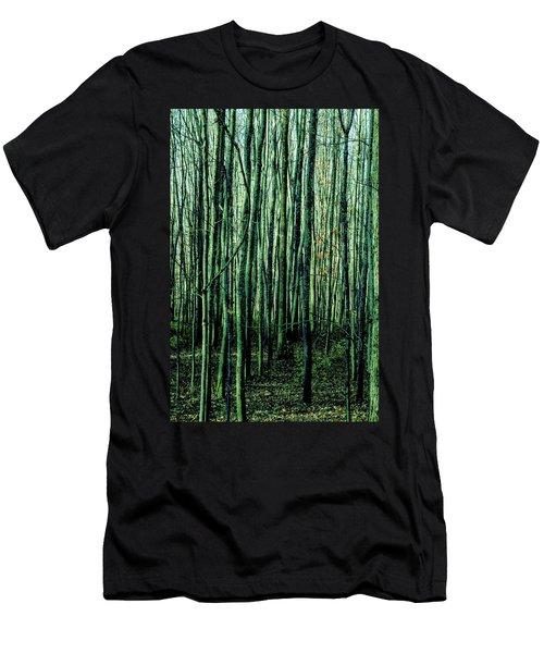 Treez Green Men's T-Shirt (Athletic Fit)