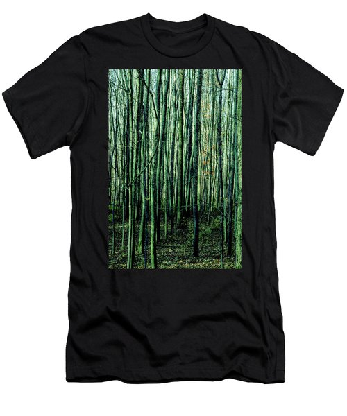 Treez Green Men's T-Shirt (Athletic Fit)