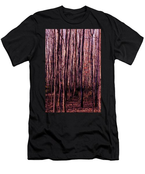 Treez Red Men's T-Shirt (Athletic Fit)