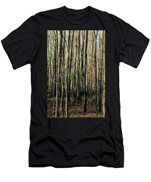 Treez Yellow Men's T-Shirt (Athletic Fit)