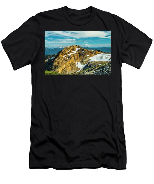 Trekking Into Camp Men's T-Shirt (Athletic Fit)