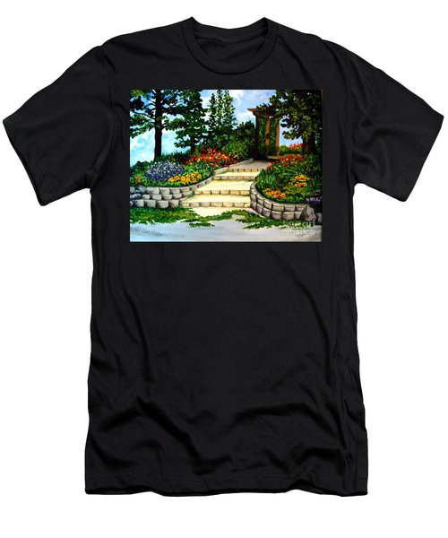 Trellace Gardens Men's T-Shirt (Athletic Fit)