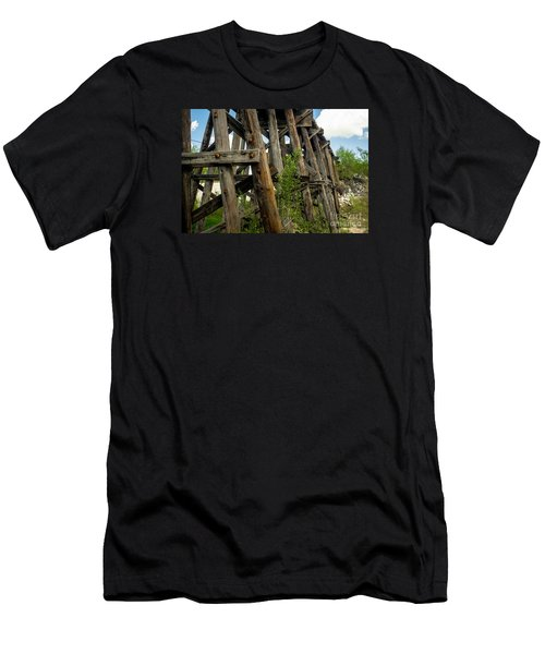 Trestle Timber Men's T-Shirt (Athletic Fit)