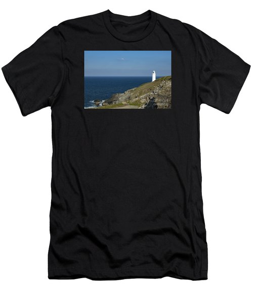 Trevose Head Lighthouse Men's T-Shirt (Athletic Fit)